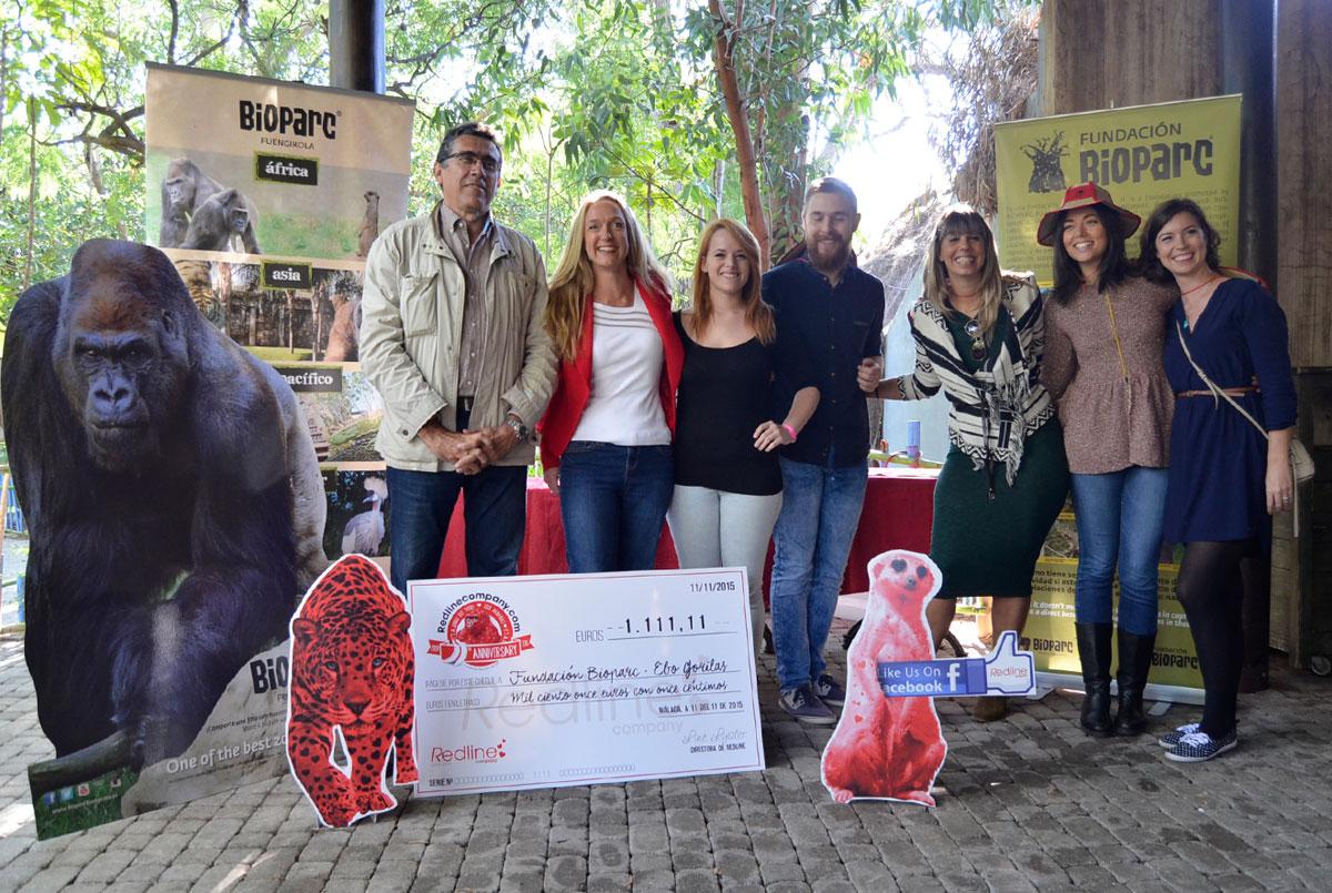 Un cumpleaños se ha convertido en la razón para colaborar en conservación con BIOPARC Fuengirola