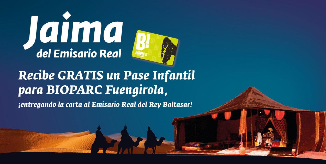 El 23 de diciembre ¡llega el Emisario Real del Rey Baltasar a Fuengirola!