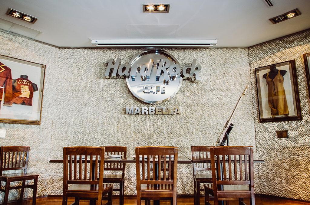 Hard Rock Cafe Marbella con Rokan y Asmara