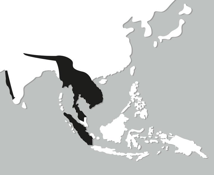 calaobicorne mapa de distribucion